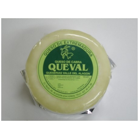 Queso Blanco Natural de cabra Queval